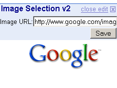Screenshot of the Image Selector module