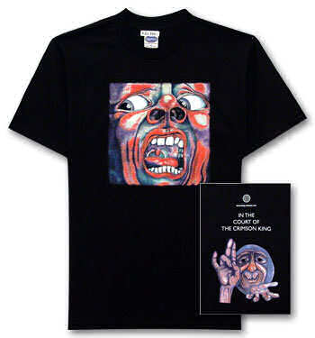 Picture of the King Crimson T-Shirt.
